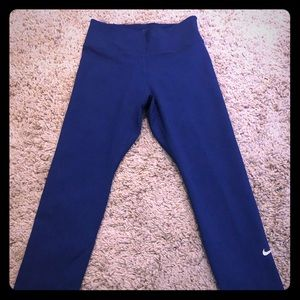 Nike blue capri pants